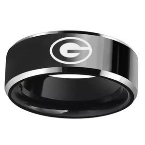 Jewelry - Black Green Bay Packers Ring